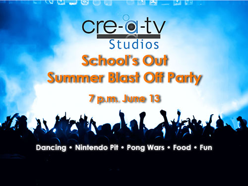 School's Out Summer Blast Off Party